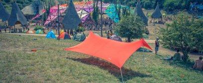 otentik sunshade at ozora festival